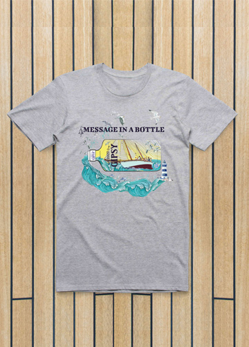 camiseta-message-in-a-bottle-gris
